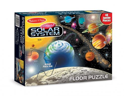 floor puzzle solar system