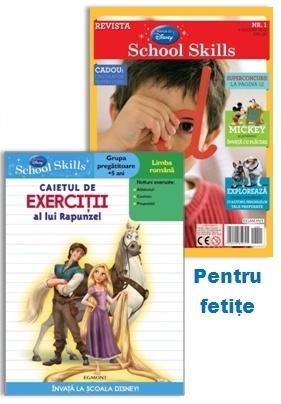 Pachete School skills pentru fetite