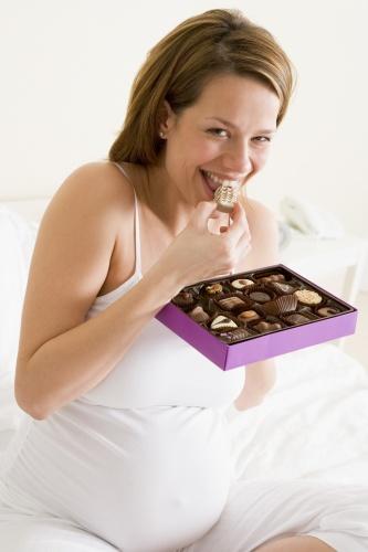 gravida cu ciocolata