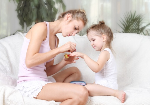 manichiura la copii