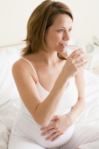 hidratarea gravidei