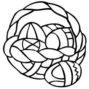 desene de colorat de paste 6