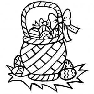 desene de colorat de paste 7