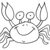 Desene de colorat cu Crabi