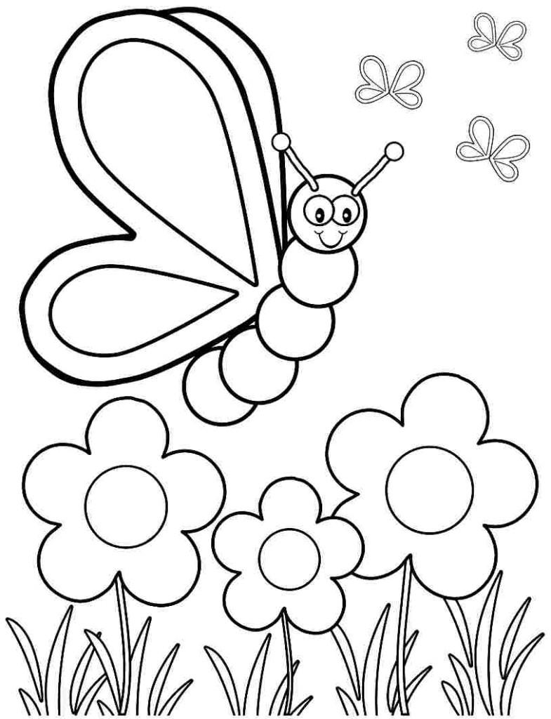 Planse De Colorat Pentru Copii De 1 Martie