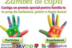 Premii Concurs Zambet de copil - concurs incheiat