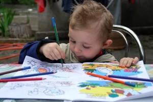 Planse de colorat | Uneste punctele, apoi coloreaza-le!