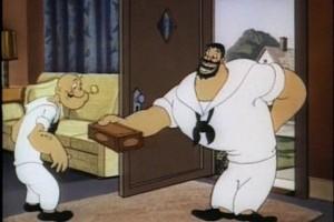 Intalnire intre Popeye si Sindbad, partea II