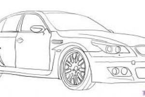 Cum desenam un BMW