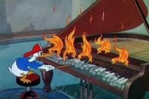 Incendiul, cu Mickey