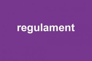 Regulament general privind organizarea si desfasurarea concursurilor