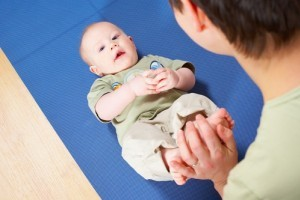 Gimnastica pentru bebelusi