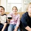 Copiii petrec prea mult timp in fata televizorului?
