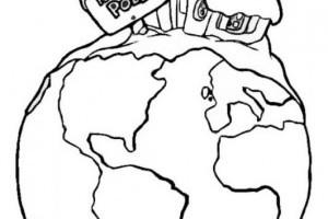 Desene De Colorat Polul Nord Desene De Colorat Utilecopii