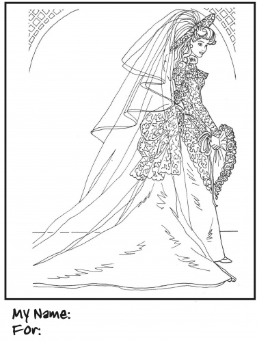 barbie_wedding_coloring_pages_beautiful_bride