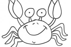 Desene de colorat | Crabi