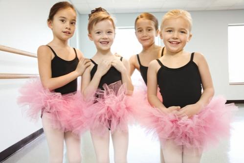 sport pentru copii balet