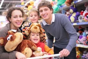 Copiii la cumparaturi. 8 pasi pentru a evita momentele jenante