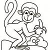 Coloreaza maimuticile