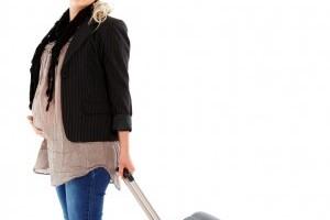 Zborul cu avionul in perioada de sarcina