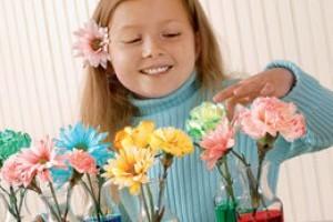 Buchet de primavara - activitati pentru copii
