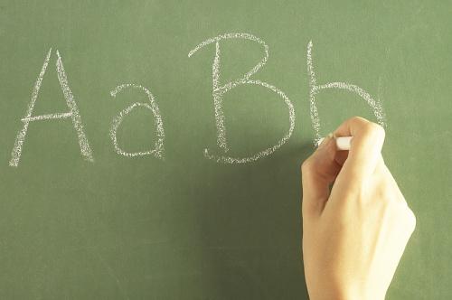 scrisul de mana la copii