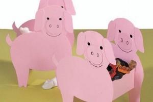 Activitati pentru copii: Cosulet cu purcelusi