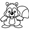 Desene cu o veverita simpatica