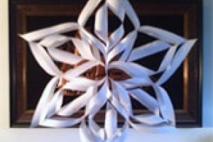 Fulgi de zapada - ornamente pentru Craciun