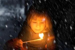 Fetita cu chibrituri - poveste de Hans Christian Anderson